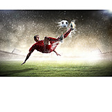 Soccer, Soccer player, Kick