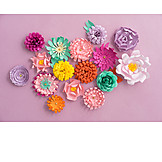 Decoration, Flowers, Paper flowers