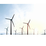 Wind turbine, Windpark