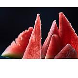 Watermelon, Melon pieces