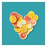 Heart, Vitamin c, Citrus fruit