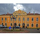 Railroad station, Vác