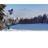 Lenggries, Snow cannon