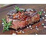 Beef steak, Medium, Fillet steak