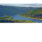 Danube river, Hungary, Dunakanyar