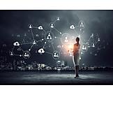 Business, Data Transfer, User