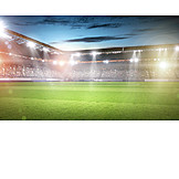 Spectator, Socce stadium, Stadium, Floodlight