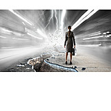 Business, Risiko, Zusammenbruch, Apokalypse