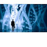 Science, Research, Digital, Genetic Research, Diagram, Dna