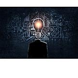 Business, Idee, Kreativität, Innovation, Erleuchtung