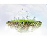 Wind power, Pinwheel, Alternative energy, Climate protection, Global warming