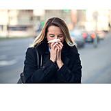 Flu, Hay Fever, Blow Nose