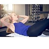 Workout, Sit ups