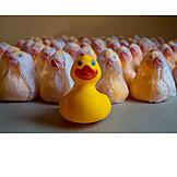 Rubber duck, Mass production