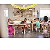 Spielen, Kinder, Kindergarten