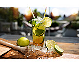 Iced, Ingredient, Mojito