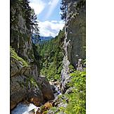 Dachstein, Styria, Silberkarklamm