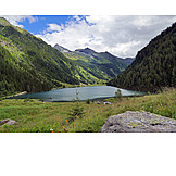 Hiking area, Riesach lake, Schladming