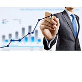 Business, Growth, Winning, Positive, Upswing