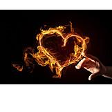 Heart, Burning, Passion