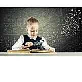 Child, Girl, Learning, Intelligent, Child Prodigy