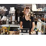 Cafe, Sales executive, Counter