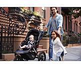 Child, Father, Walk, Care