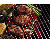Grill, Grilled meat