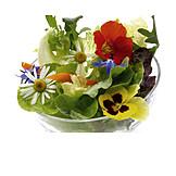 Salad, Salad bowl, Leaf lettuce