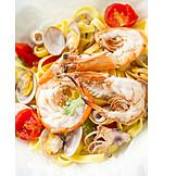Pasta, Shrimp