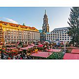 Christmas market, Dresdner striezelmarkt