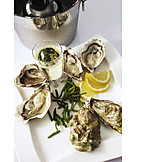Champagne, Delicacy, Oysters