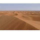 Sand, Dune ridge, Sand dunes
