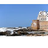 City wall, Harbor city, Essaouira
