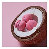 Coconut, Macaron