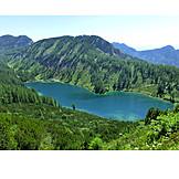 Tauplitzalm, Styrian lake, 6, Lake hike