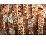 Bread crust, Bread slices