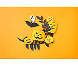 Horror, Halloween, Invitation card