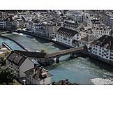 Lucerne, Spreuer bridge