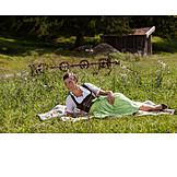 Woman, Bavarian, Dirndl