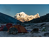 Camping, Hike, Bhutan