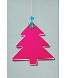Christmas tree, Label