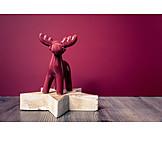 Ceramic figure, Reindeer
