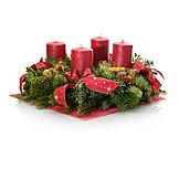 Christmas wreath, Advent