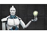 Research, Idea, Robot, Cybernetics