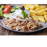 Greek cuisine, Gyros