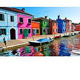 House, Venice, Burano