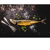 Snack, Smoked fish