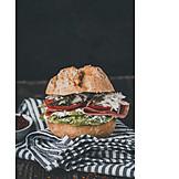 Snack, Ham sandwich