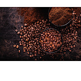 Coffee beans, Coffee powder